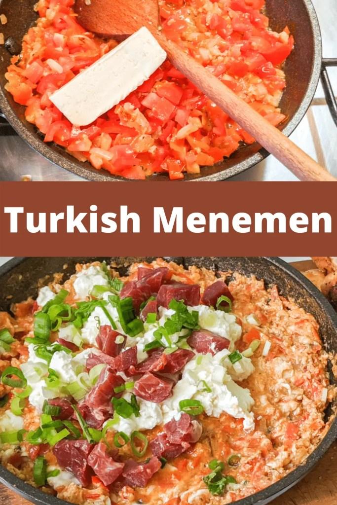 Turkish Menemen pinterest pin