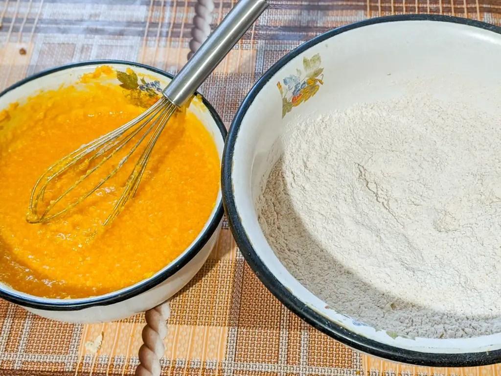 Pumpkin Cookies With Cinnamon Cream Cheese Frosting ingredients