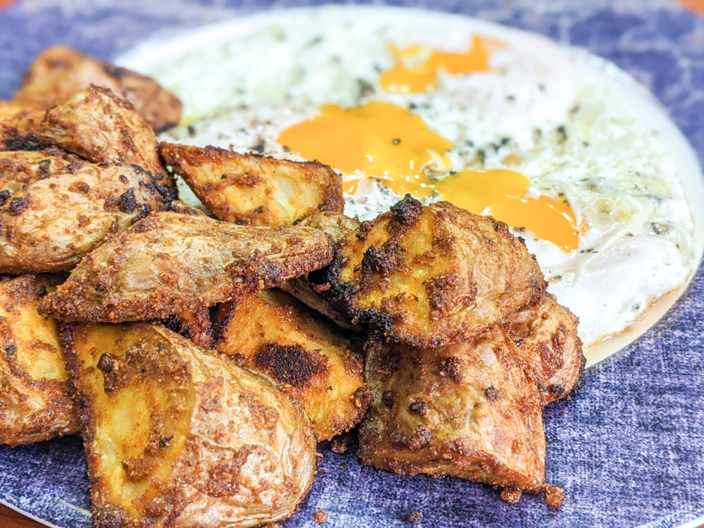 Curry Roasted Red Potatoes