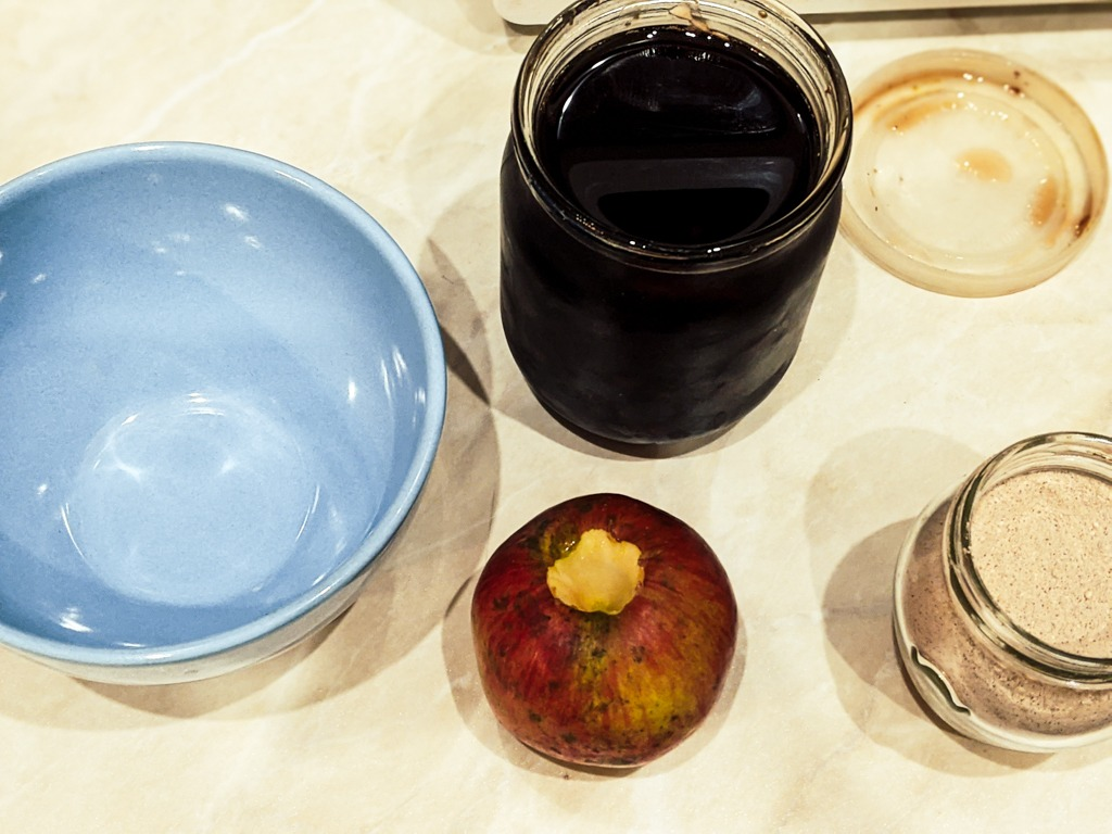 Pine Syrup Baked Apples ingredients