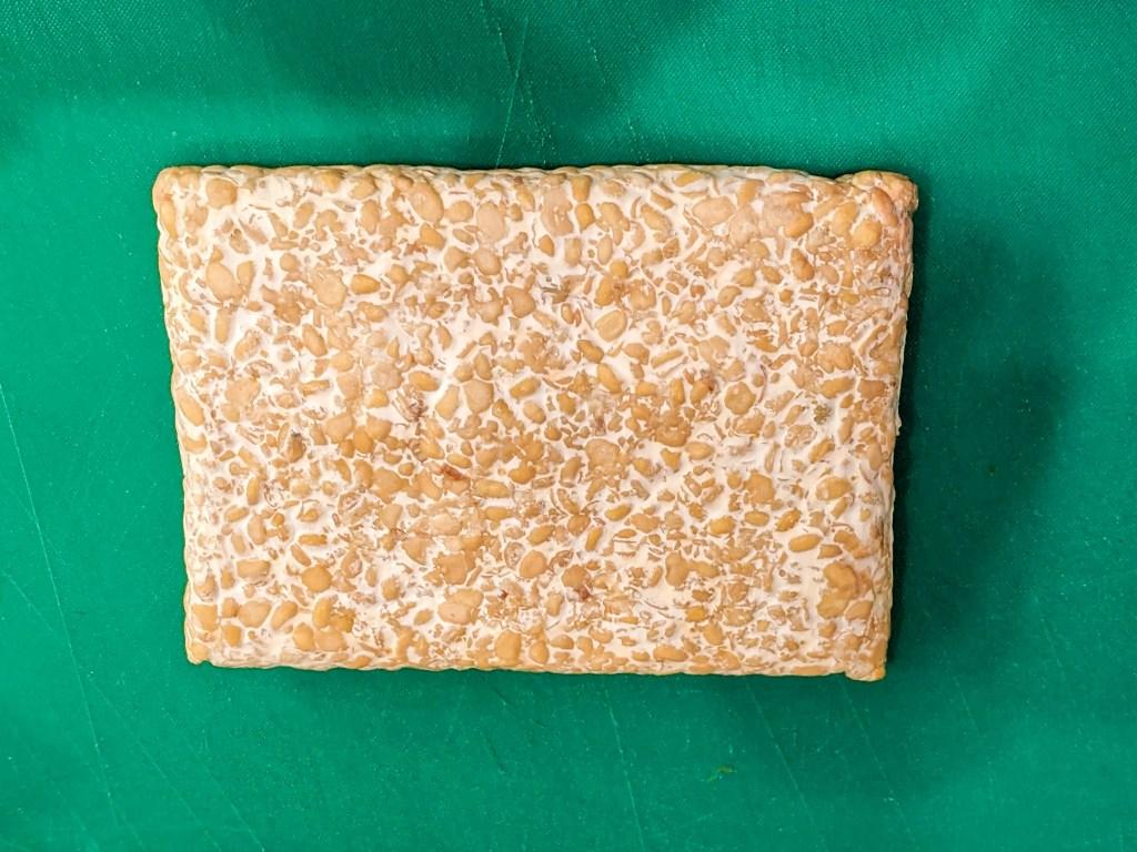 block of tempeh