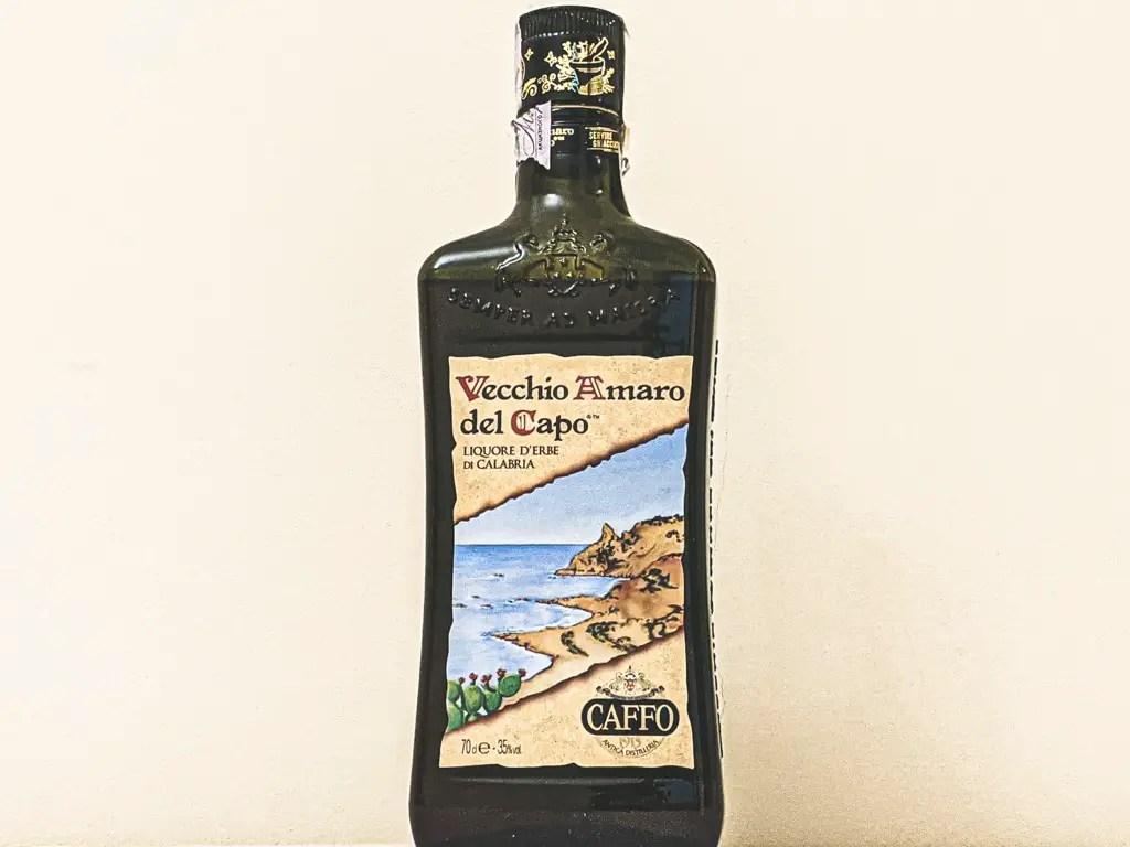 A bottle of Vecchio Amaro del Capo