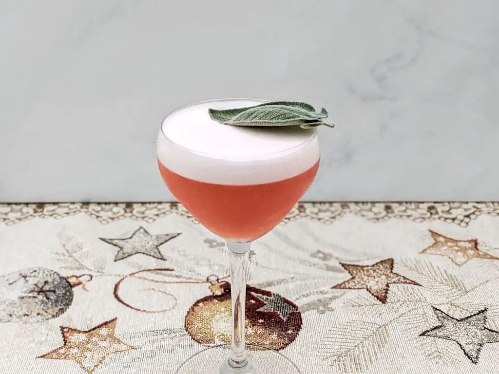 Lucciola - A Craft Vecchio Amaro del Capo Cocktail in a nick and nora glass