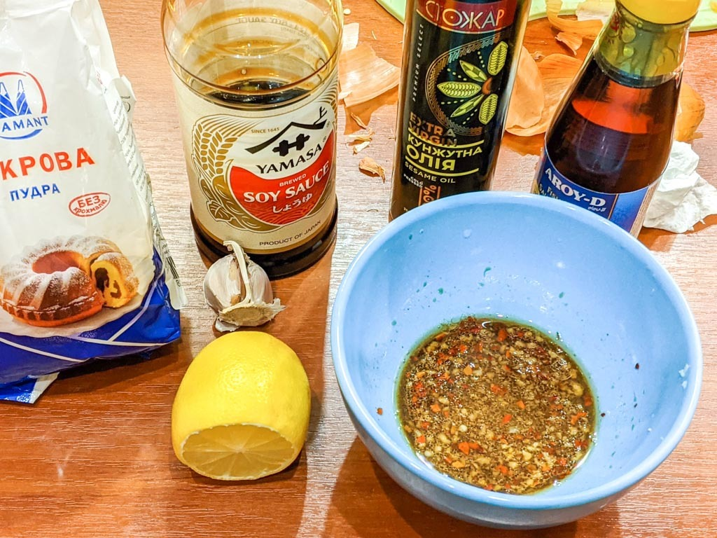Duck With Vietnamese Style Noodles sauce ingredients