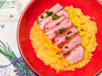 Saffron Risotto With Duck Breast