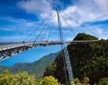 Walk across the Langkawi Skybridge in MALAYSIA