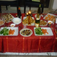 2015 Christmas Eve's Feast for Two