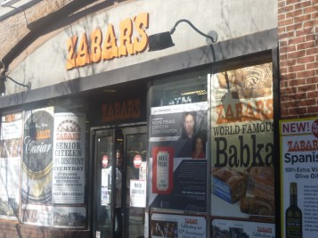 Zabar's NYC, home of the World Famous Babka and Jewish Deli - photo by Sophie Rebibo Halimi