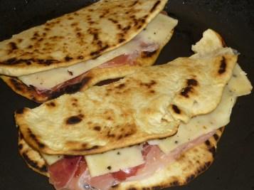Grilling Piadina Italiana cookingtrips.wordpress.com