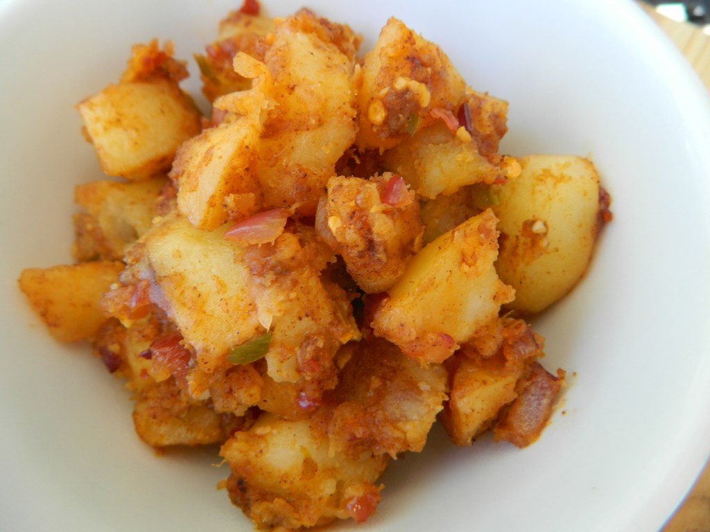 spicy potato hash