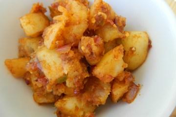 spicy potato hash