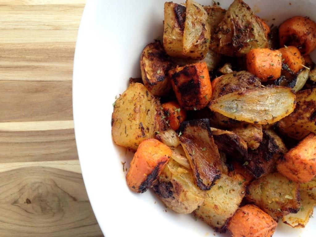 Irish roasted potatoes