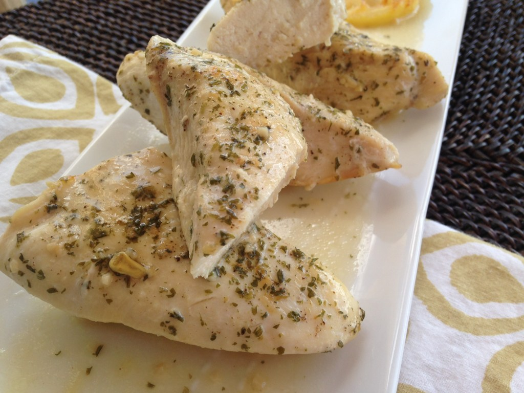 Easy Lemon Garlic Chicken