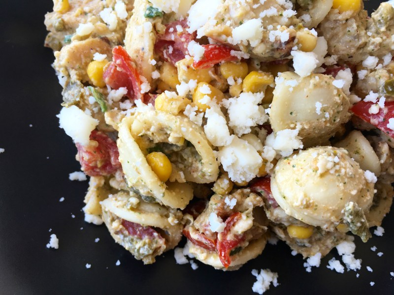 Southwest Pasta Salad - Cooking Up Happiness