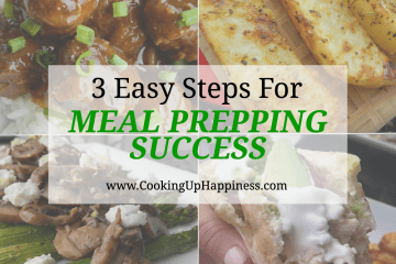 3 Steps To Easy Meal Prepping
