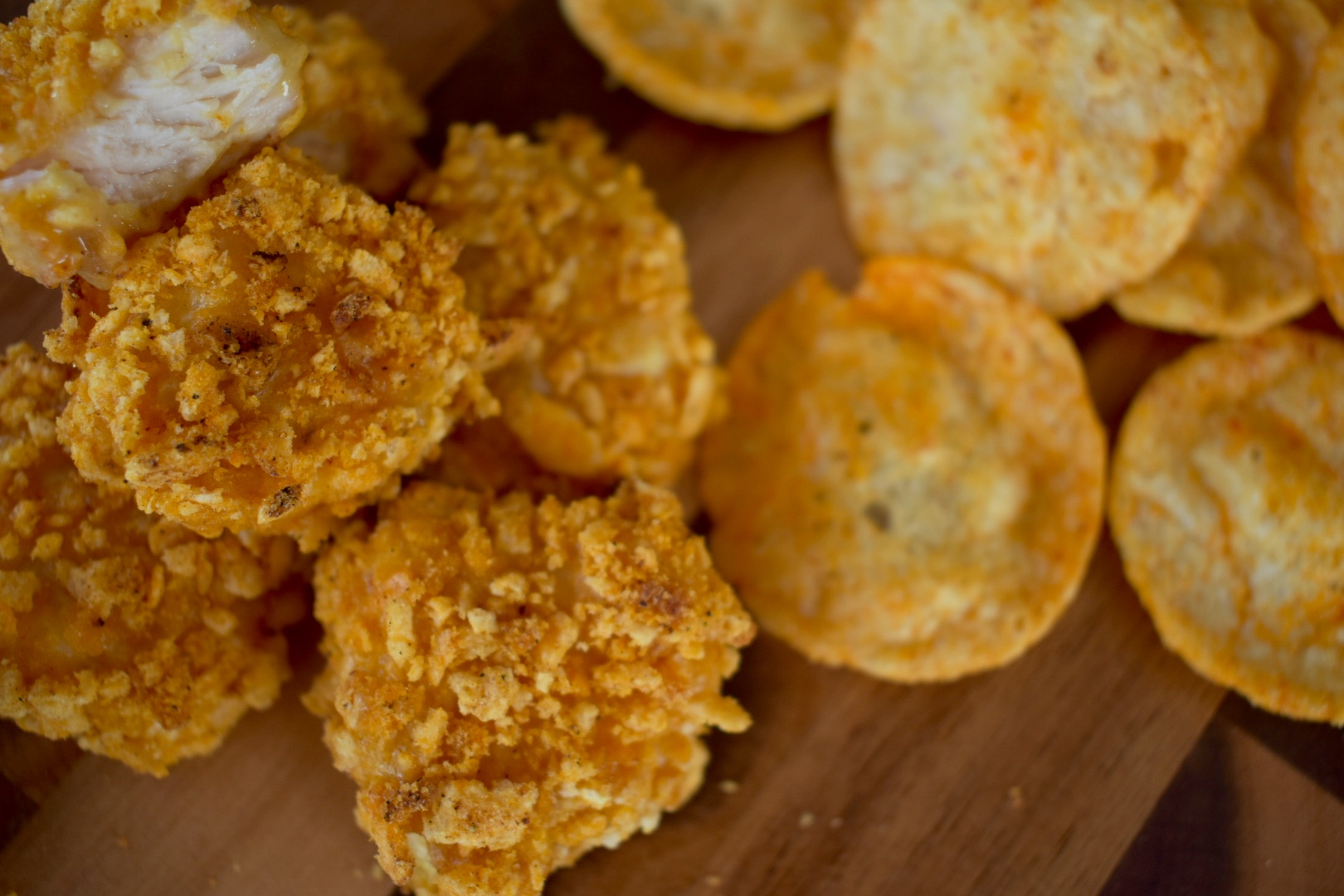 Healthy POPcorn Chicken Bites - Cooking Up Happiness