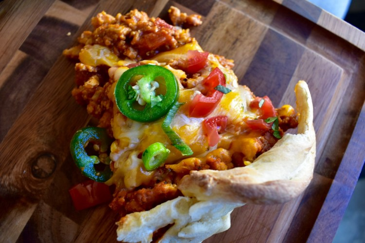Deep Dish Taco Pie - Cooking Up Happiness