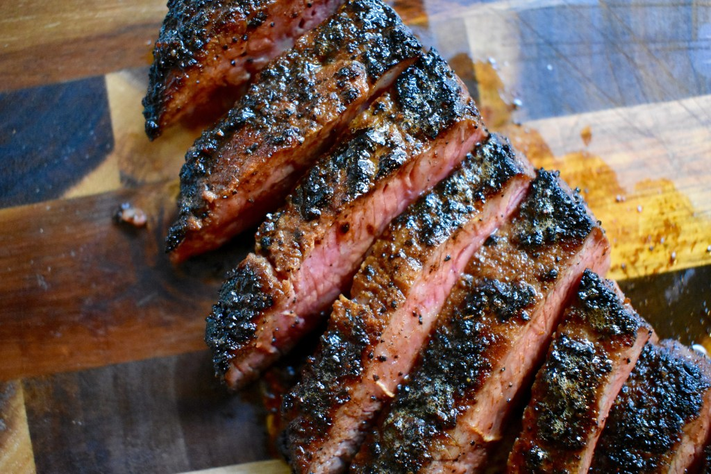 Coffee Rubbed NY Strip Steak
