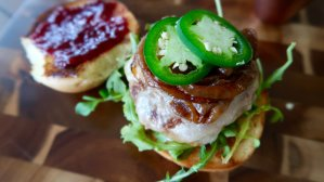 Sweet and Spicy Turkey Burger