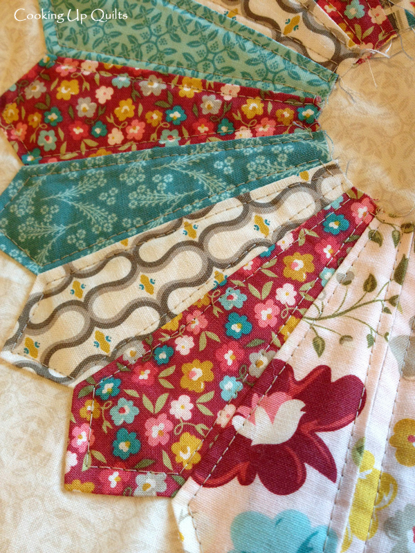 Quilting Dresden Plate