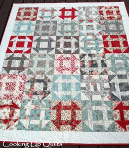 New Beginnings Churn Dash Quilt