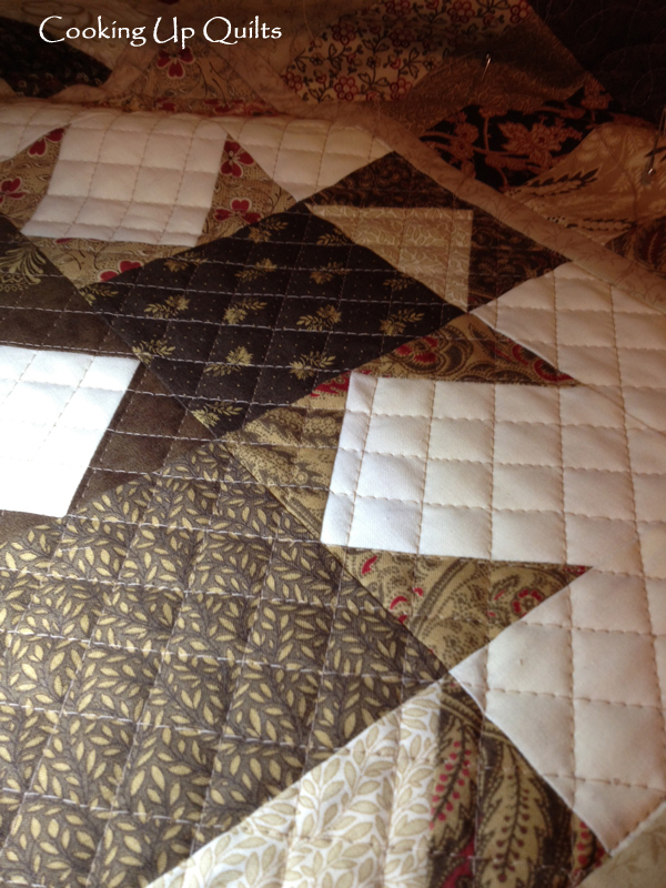 Crosshatch Quilting Design