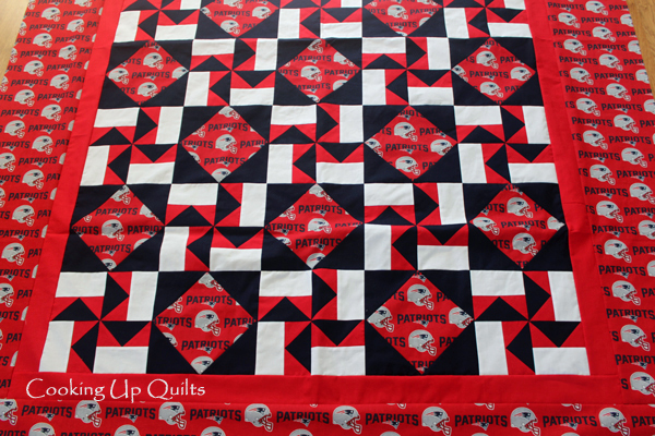Pinwheels, quilt flimsy