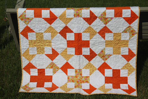 Baby Quilt Sea Star Pattern