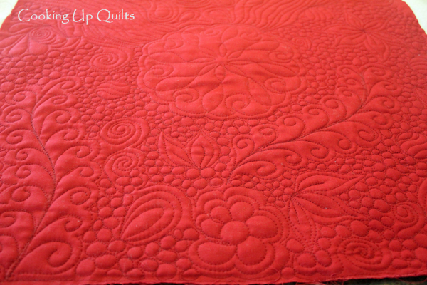 Whole Cloth Mini Quilt FMQ