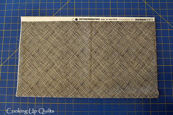 Fabric folded for binding strips