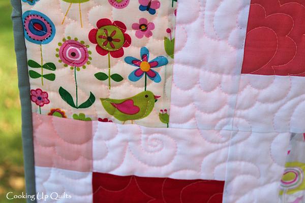 Lollipop close up quilt
