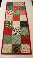 A Quick Finish Table Runner