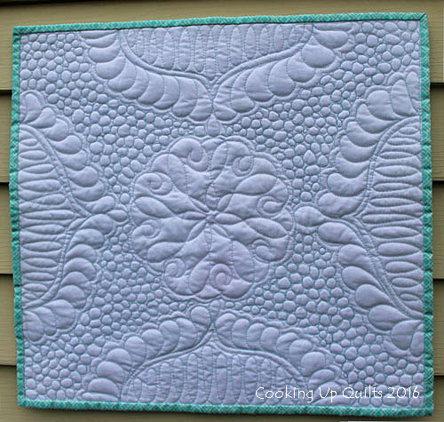 Mini Wholecloth Quilt Texture