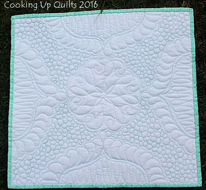 Mini Wholecloth Quilt