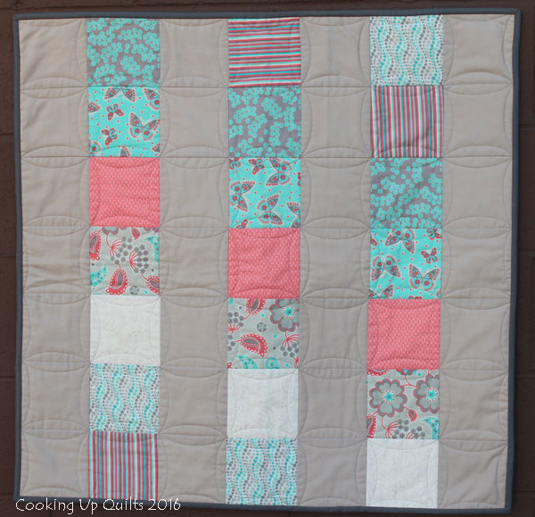 Baby Quilt from Charms