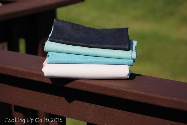 Quilters Linen My Ocean Palette