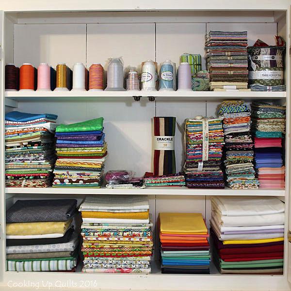 Organized Fabric Stash