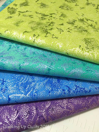 Fairy Frost Fabric Michael Miller