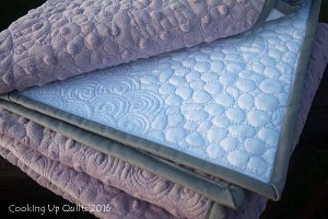 A Wholecloth Baby Quilt – Finished!
