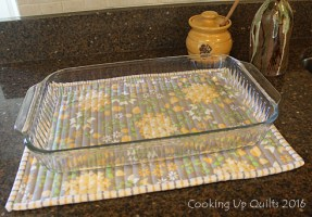 Why 'Cooking Up Quilts' and Casserole Hot Pads
