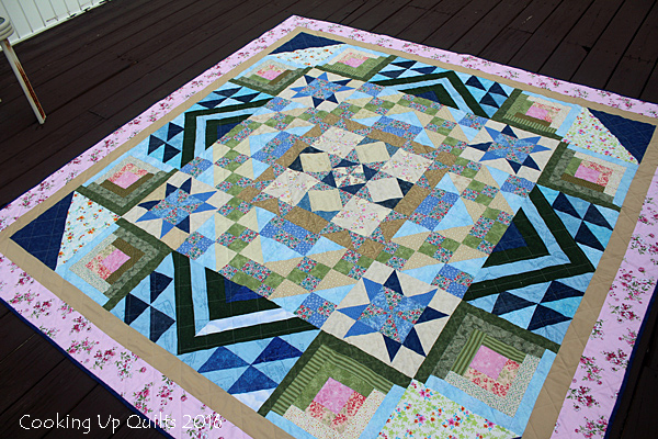Cottage Romance Quilt Pattern