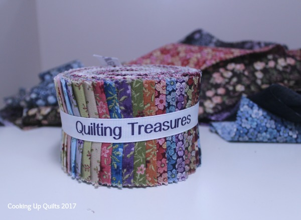 Petals Jelly Roll by Quilting Treasures