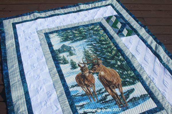 Finished Deer Quilt