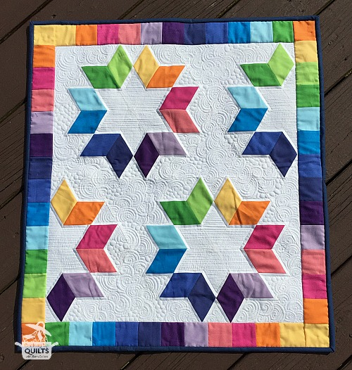 Cookie Cutter Mini quilt
