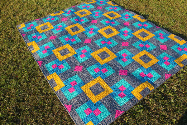 Floating Quilt in AG Fabrics