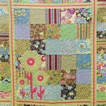 Floral Whimsy quilt by Beth Sellers of Cooking Up Quilts