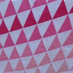 Pretty in Pink quilt by Beth Sellers of Cooking Up Quilts
