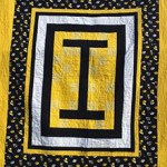 Team Spirit Iowa quilt by Beth Sellers of Cooking Up Quilts
