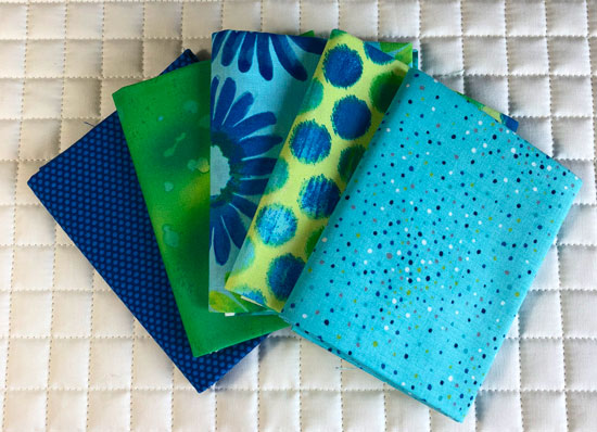 Friday Bundle fat quarters from Fort Worth Fabric Studio