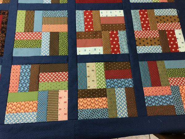 Rail Trail quilt blocks